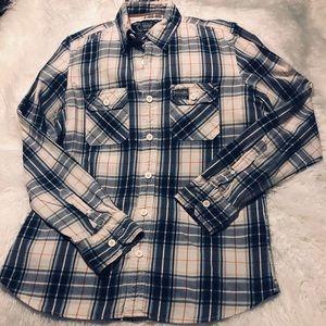 Men's Superdry XL Long Sleeve Shirt